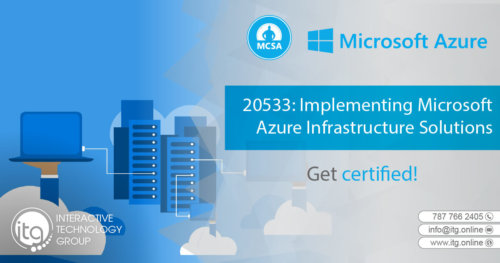 20533: Implementing Microsoft Azure Infrastructure Solutions