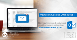 Microsoft Outlook 2016 Level 1 @ Puerto Rico Science, Technology, and Research Trust