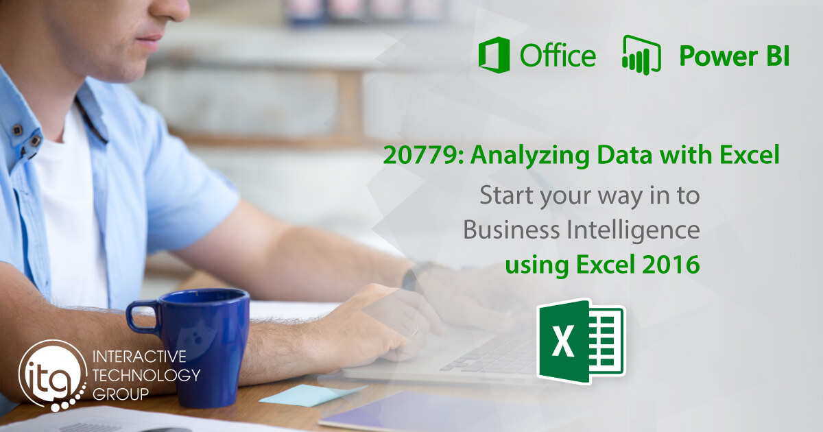 20779: Analyzing Data with Excel 2106