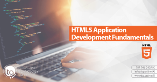 40375: HTML5 Application Development Fundamentals