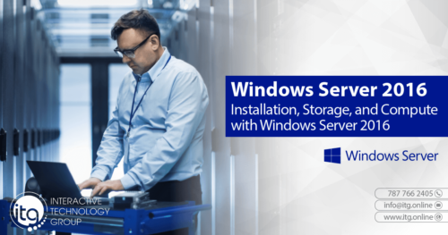 20740: Installation, Storage, and Compute with Windows Server 2016