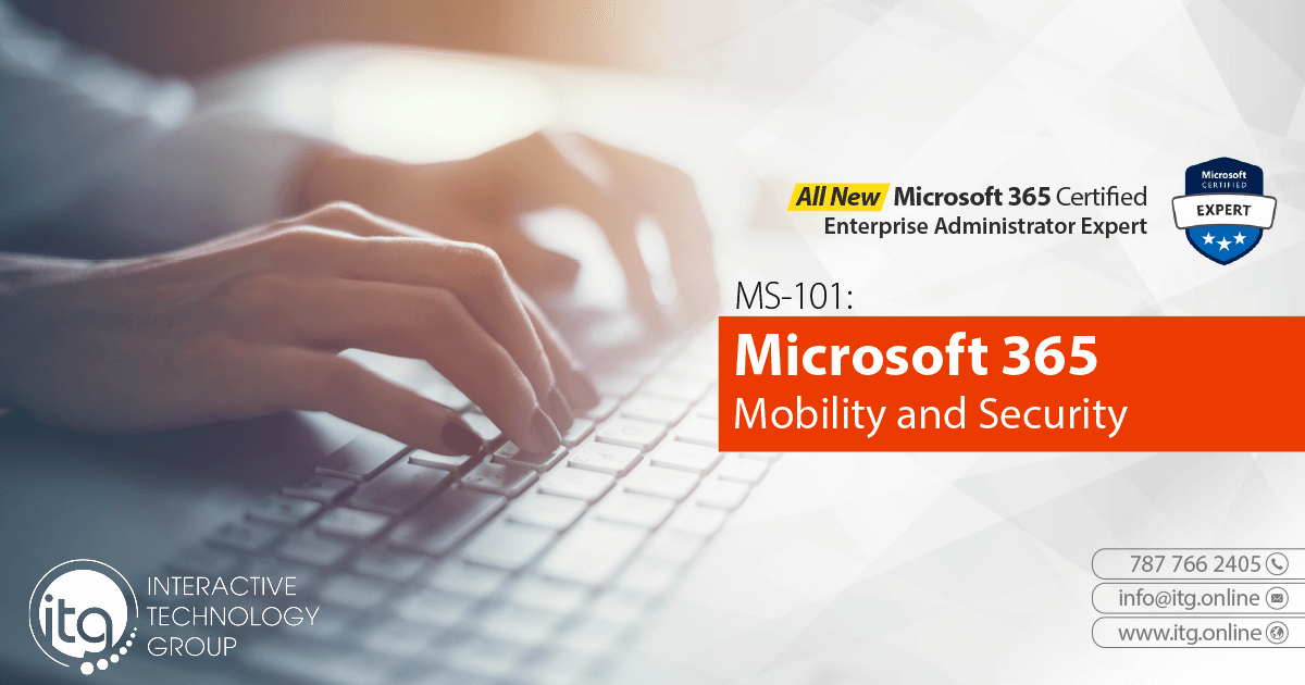 MS-101 Microsoft 365 Mobility and Security