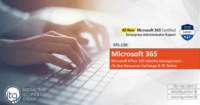 MS-100: Microsoft Office 365 Identity Management - On-line Resources Exchange & SP Online